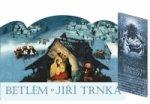 Betlém Jiří Trnka skládací  + Vánoční koledy s notami