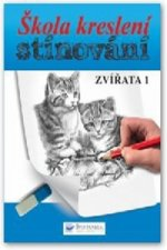 Škola kreslení, stínování - zvířata 1