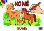Koně - omalovánka
