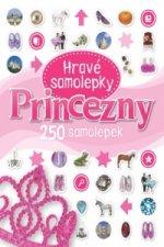 Princezny Hravé samolepky