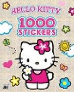 1000 stickers Hello Kitty omalovánka