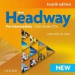 New Headway Pre-Intermediate Maturita Fourth Edition Class audio CDs