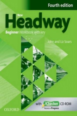New Headway Fourth edition Beginner Workbook with key with iChecker CD-ROM Pack