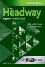 New Headway Fourth edition Beginner Teacher's Book with Teacher's resource disc