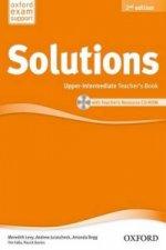 Maturita Solutions Upper-intermediate Teacher's Book with Teacher's resource CD