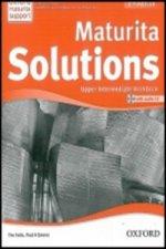 Maturita Solutions Upper-intermediate Workbook with audio CD Pack Czech Edition