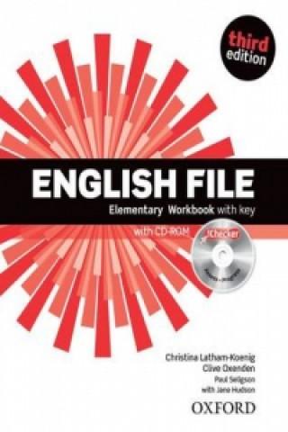 English File Elementary Workbook with key + iChecker CD-ROM