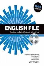 English File Pre-Intermediate Workbook without key + iChecker CD-ROM