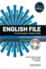 English File Pre-Intermediate Student's Book + iTutor DVD-ROM Czech Edition