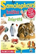 Samolepková knižka Zvieratá