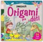 Origami pro děti Dinosauři