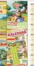 Medvídek Pú měřící kalendář - nástěnný kalendář