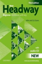 New Headway Third Edition Beginner Workbook with key + Audio CD Pack