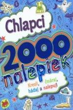 Chlapci 2000 nálepiek