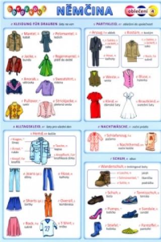 Obrázková němčina 4 oblečení
