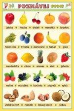 Poznávej zeleninu a ovoce 1