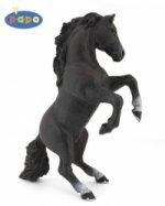 Kůň vzepjatý černý