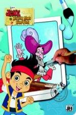 Jake a piráti - omalovánka