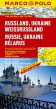 Rusko Ukrajina západní Rusko 1:2mil.