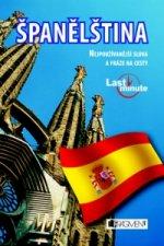 Španělština last minute