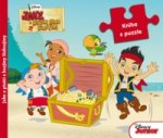 Jake a piráti z krajiny Nekrajiny Kniha s puzzle