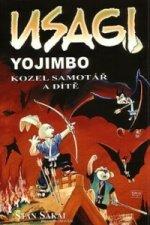 Usagi Yojimbo Kozel samotář a dítě