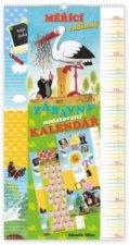 Krteček - měřící rodinný zábavný nedatovaný kalendář