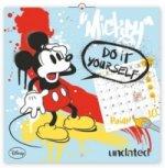 Mickey Mause omalovánkový poznámkový - nástěnný kalendář