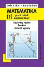 Matematika 1 pro 9. ročník základní školy