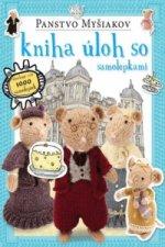 Panstvo Myšiakov kniha úloh so samolepkami
