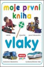 Moje první kniha Vlaky