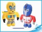 Robot Transformers 35cm látkový 2druhy 0m+