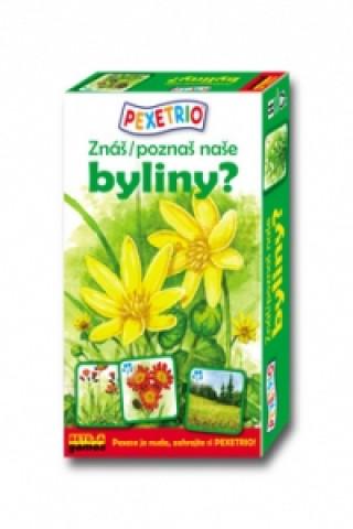 Pexetrio Znáš naše byliny?