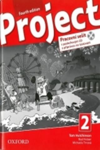 Project Fourth Edition 2 Pracovní sešit s poslechovým CD a přípravou na testov.