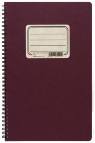 Retro zápisník s tužkou