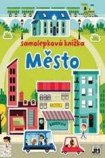 Samolepková knížka Město