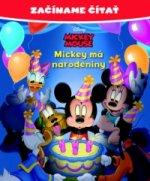 Začíname čítať Mickey má narodeniny