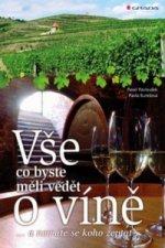 Vše co byste měli vědět o víně