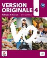 Version Originale 4 Livre de l'éleve + CD + DVD
