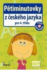 Pětiminutovky z českého jazyka pro 4. třídu