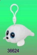 Beanie Boos Icy přívěšek bílý tuleň 8.5 cm
