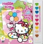 Vymaľovanka s farbami Hello Kitty