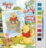 Vymaľovanka s farbami Macko Puf