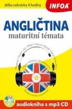 Angličtina maturitní témata Audiokniha s mp3 CD