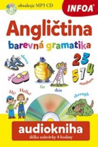 Angličtina barevná gramatika + CD