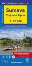 Šumava Trojmezí, Lipno 1:70 000