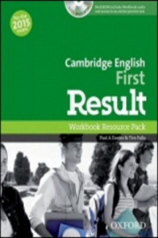 Cambridge English First Result Workbook without Key with Audio CD