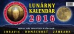 Lunárny kalendár na rok 2016 - stolový kalendár