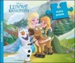 Ledové království Kniha puzzle