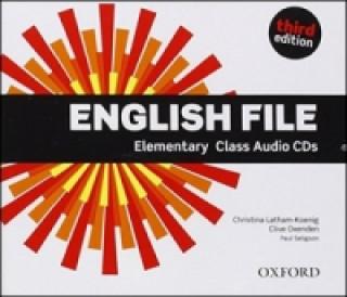 English File third edition: Elementary: Class Audio CDs